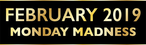 February Monday Madness banner